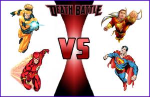 7489925 01 deathbattle boostergold flash vs captainmarvel shazam vs superman • Auto Pro Locksmith