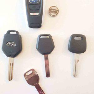 Subaru Key Lockout